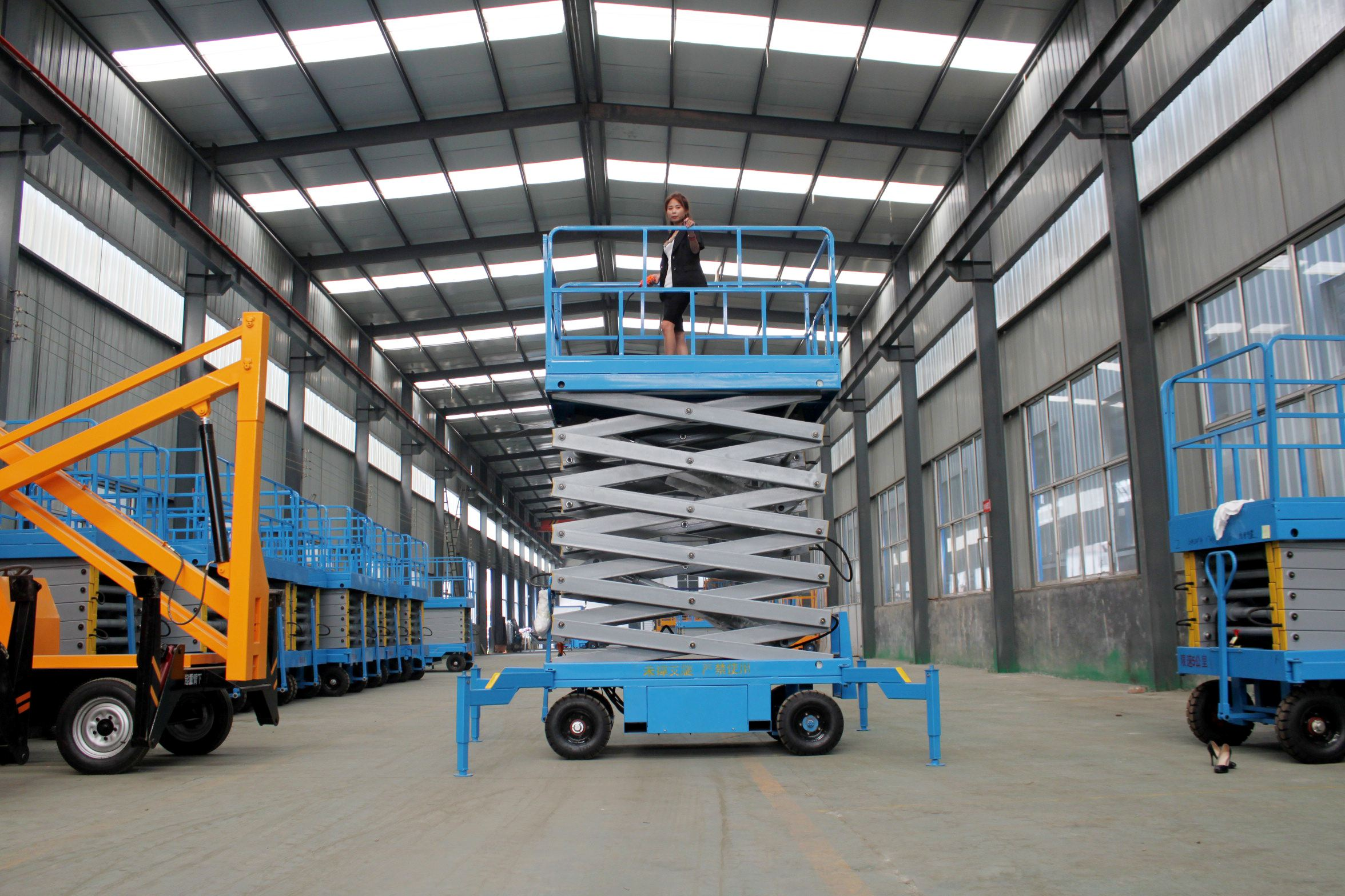 foot mobile scissor lift