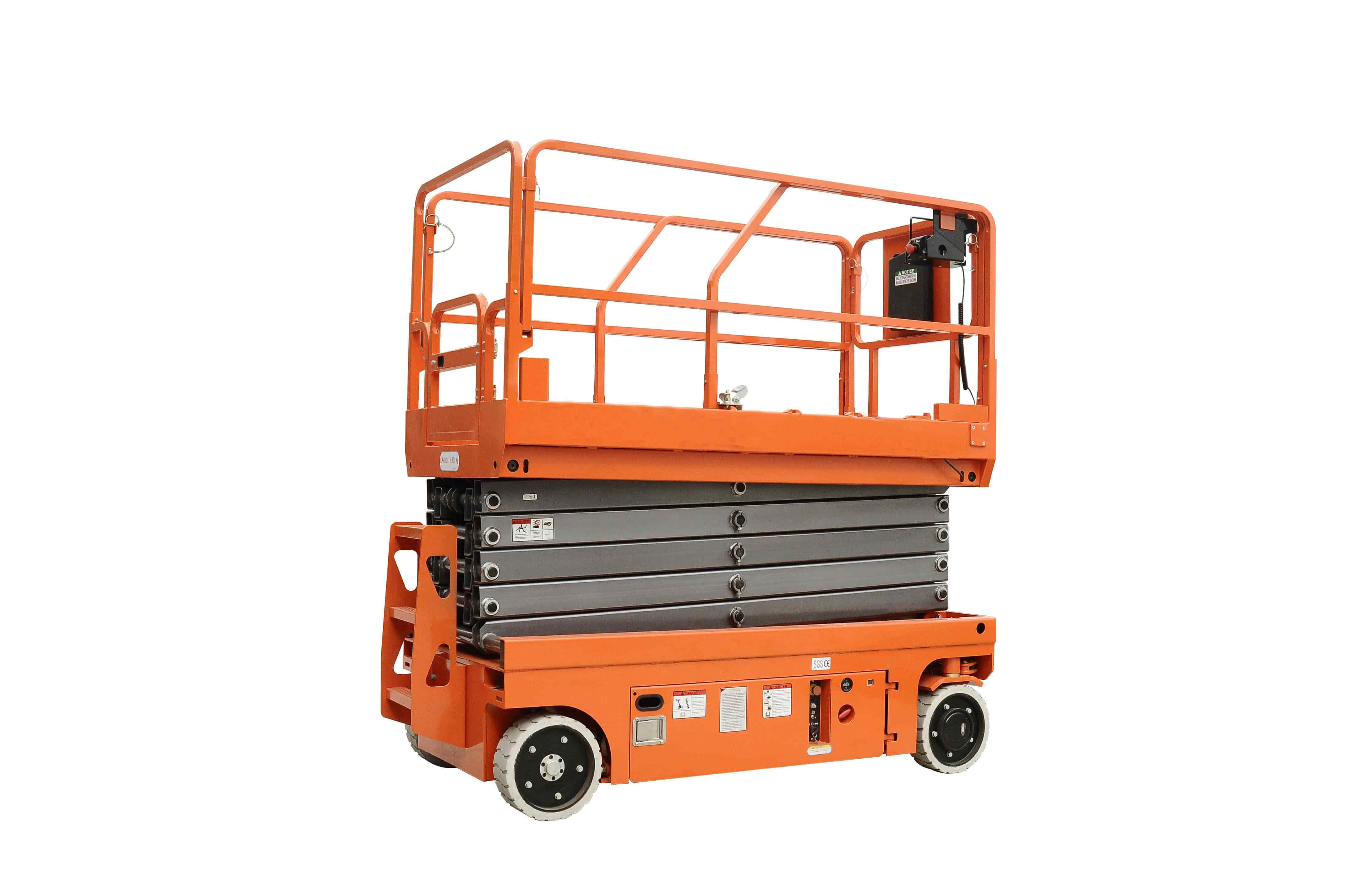 scissor man lift